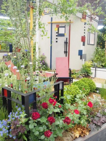 モンドリアンの庭1