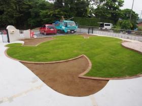 千葉県香取市N様邸 ミッキーの芝生
