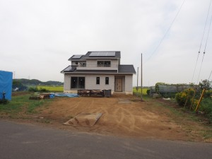 千葉県香取市N様邸 新築外構施工前